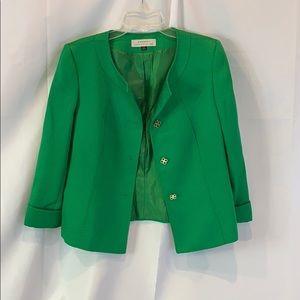 Tahari green jacket 🍀